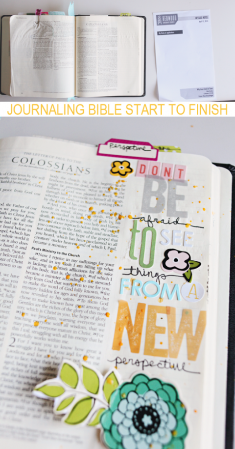 Journaling Bible Start To Finish
