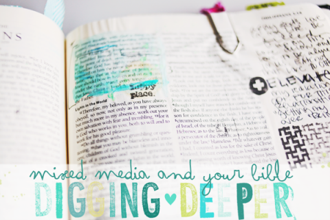 Journaling Bible | Digging Deeper