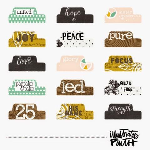 Illustrated Faith   Illustrated Advent Tabs