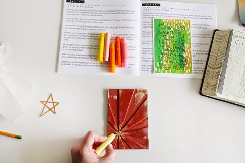 Illustrated Advent In Action