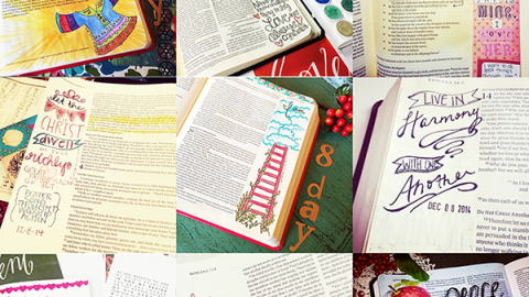Illustrated Advent Round UP & free Cut File