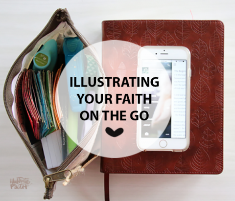 Natalie Elphinstone | Bible Journaling On The Road