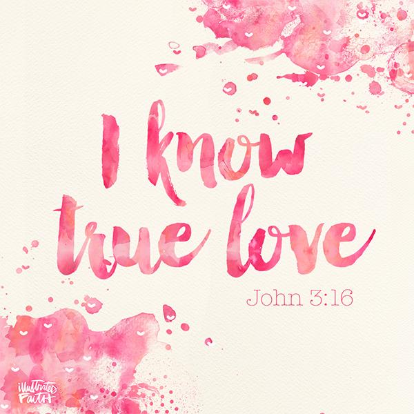 I know true love illustrated faith i know true love altavistaventures Image collections