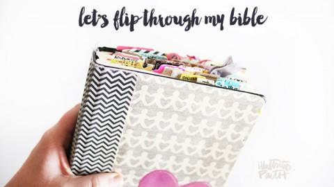Video |Let's Flip Through My Journaling Bible