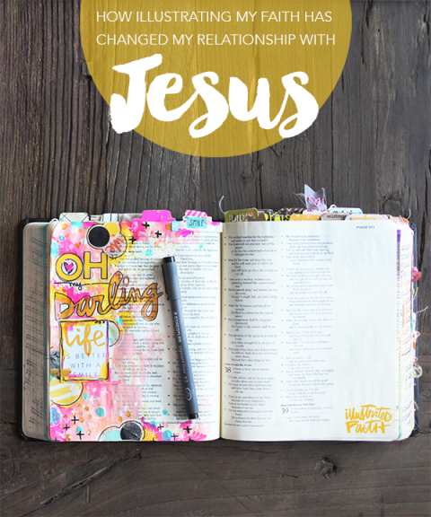 How Illustrating My Faith Has Changed My Relationship With Jesus