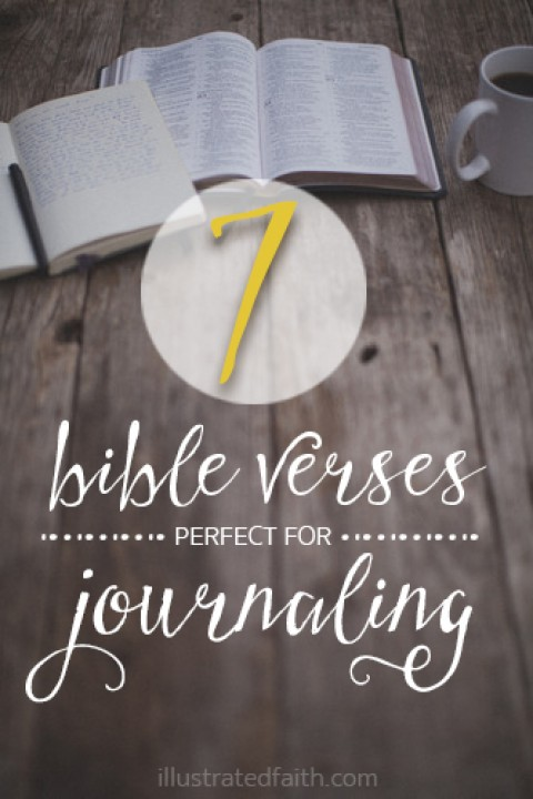7 bible verses perfect for journaling