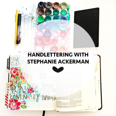 Stephanie Ackerman | Handlettering