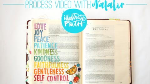 Natalie Elphinstone | Fruits of the Spirit Process Video