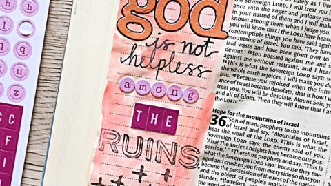 Stephanie Baxter | God is not helpless among the ruins