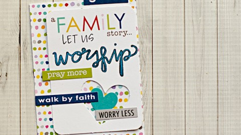 Heather Greenwood | Illustrated Faith in your Scrapbook