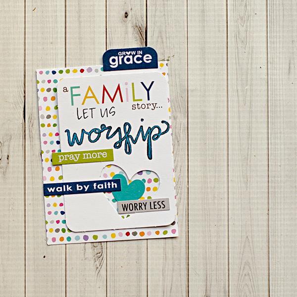 Heather Greenwood | Scrapbooking your faith | faithbooking | pocket scrapbooking | pocket letter pals
