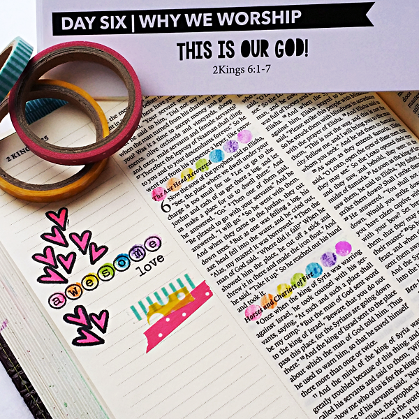 Tai Bender | This Is Our God | Worship Culture Devotional Kit | Stamping | Bible Journaling