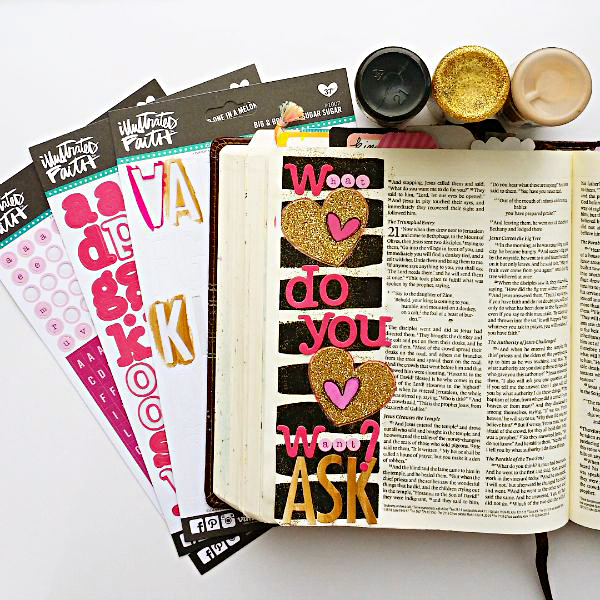 Tai Bender | Circle Maker | Mixed Media art journaling Bible