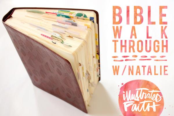video walk through of Natalie Elphinstone's Bible