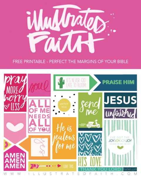 Let's celebrate ONE YEAR for Illustrated Faith