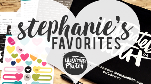 Stephanie Baxter | My Illustrated Faith Favourites
