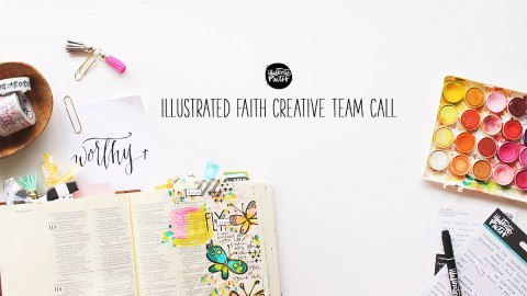Illustrated Faith Creative Team Call