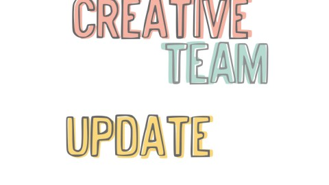 Illustrated Faith Creative Team Update
