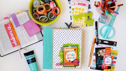 Elaine Davis | Faith Journal Flip Through