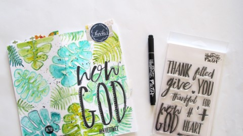 Natalie Elphinstone | WOW God Process Video