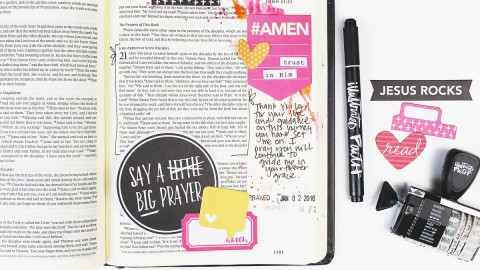New Bible Journaling Line with Bella Blvd