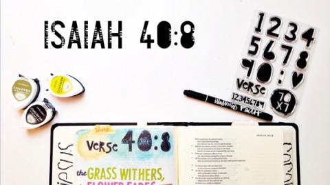 Andrea Gray | Isaiah 40:8