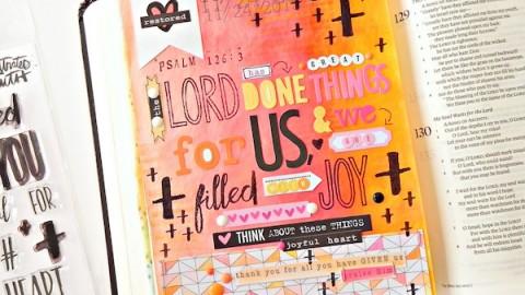 Stephanie Buice | Psalm 126:3