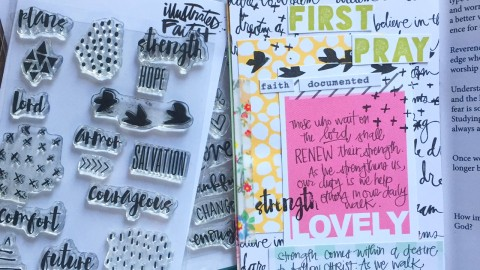 Daily Devotional + Creative Journaling