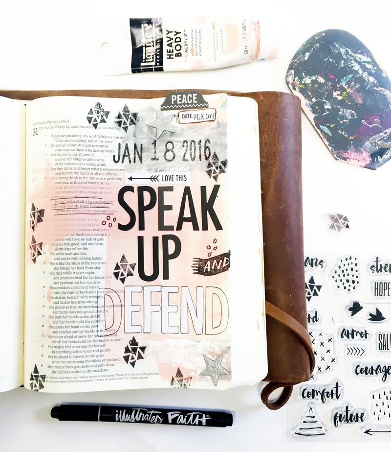 Proverbs 31: 8-9 | Janel is sharing with us her heart to speak up for those who can't