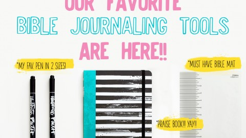 Your Praise Book, *new* Bible mat and FAVORITE pens have LANDED!!!