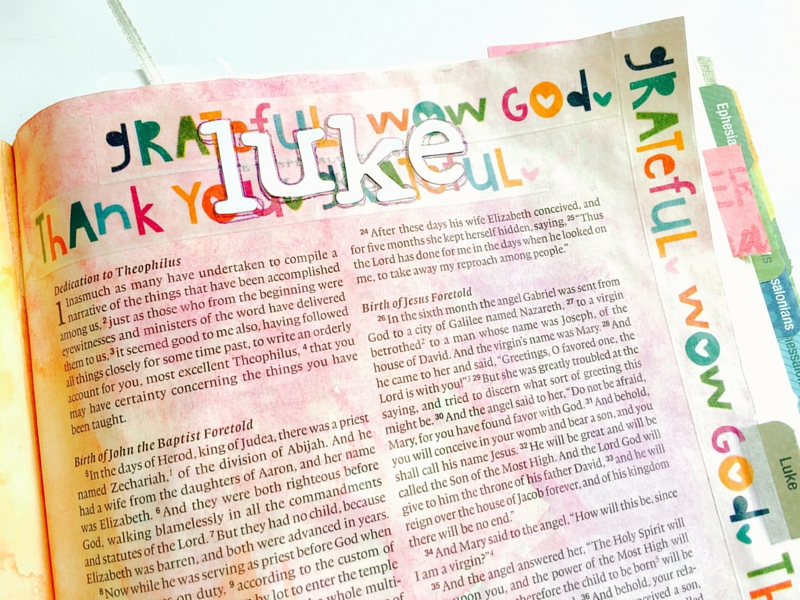 mixed media art journal Bible entry by Tawni, sharing not to wait for perfection or someone might miss the message