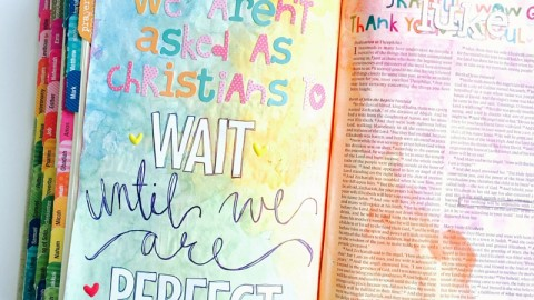 John 1:37 | Imperfect