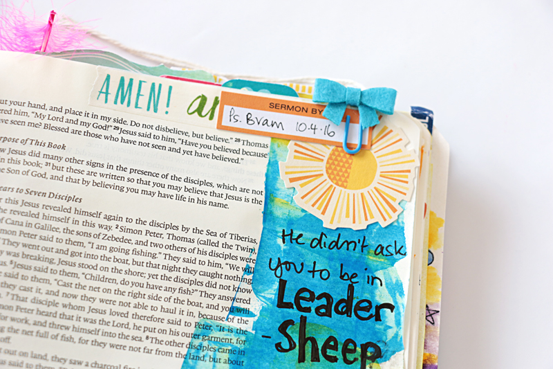 """process video and message about being called to """"feed my sheep"""" and not leadership """"leader sheep"""" by Natalie Elphinstone"""