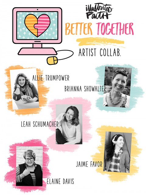 Announcing the Better Together Artist Collab!
