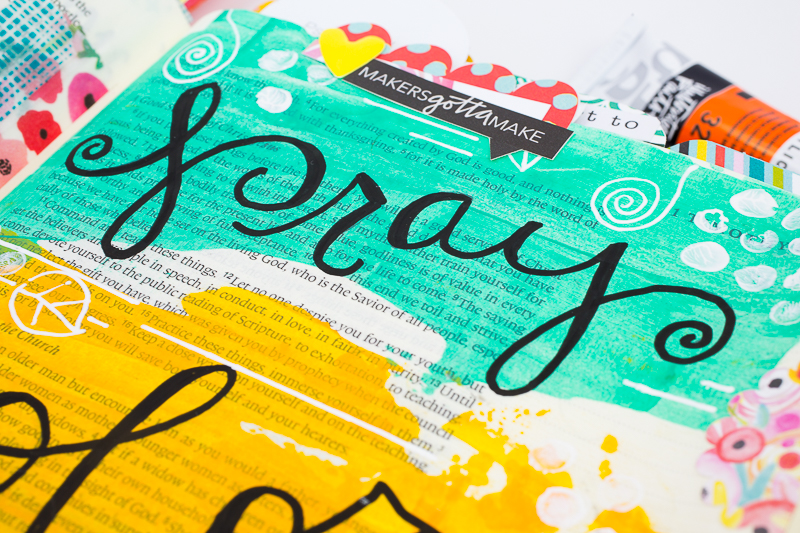 Pray Color Repeat   Amy Bruce is sharing with us what she's learning from the Illustrated Faith Created To Create devotional that we can be creative in so many different ways, not just artistically