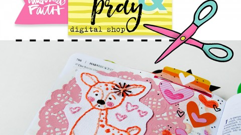 Easy Embroidery with Print Pray Trace | Step by Step Tutorial
