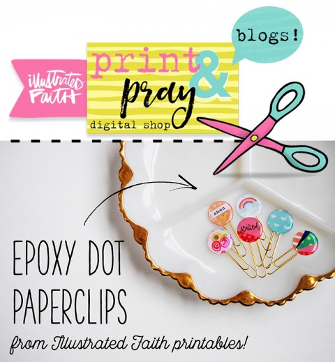 Epoxy Dot Paperclip Tutorial