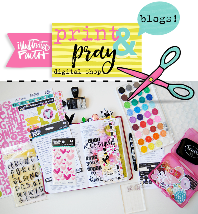 Elaine Davis is sharing an introduction to hybrid scrapbooking and using some of the new printables in her mixed media art journal Bible