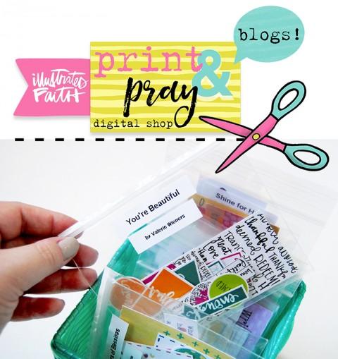 """Print & Pray Q & A: """"How do you store your printables?"""""""