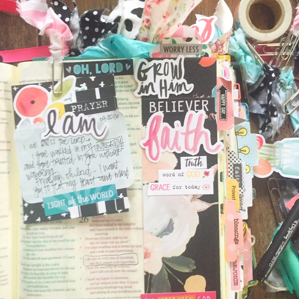 Journaling Bible process video by Florence Antonette