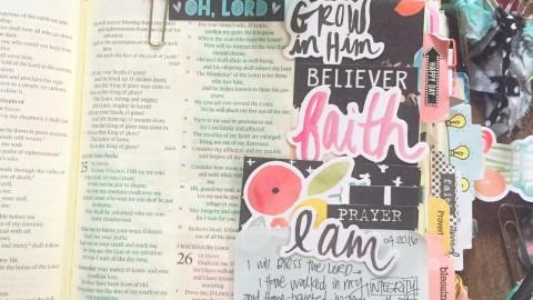 Simple Creative Bible Journaling