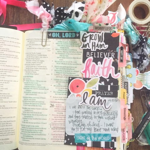 Simple Creative Bible Journaling