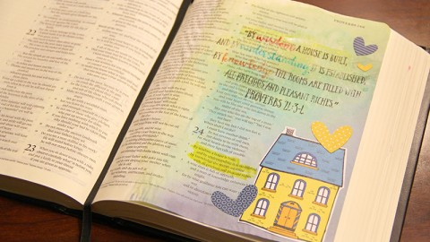 Artist Project: Proverbs 24 with Allie Trumpower
