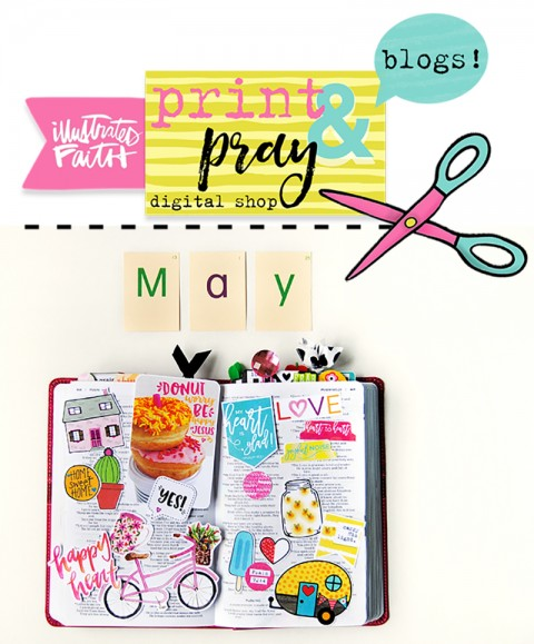 New May Releases for Print & Pray!