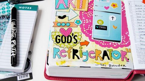 Art for God's Refrigerator