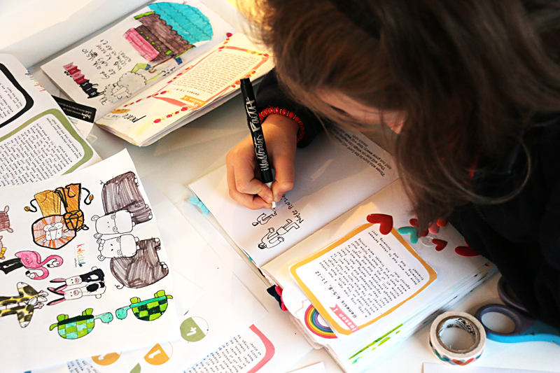 process video by Natalie Elphinstone and her kids | Illustrated Faith Kids Club - Noah