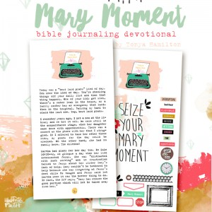 MaryMoment_biblejournaling