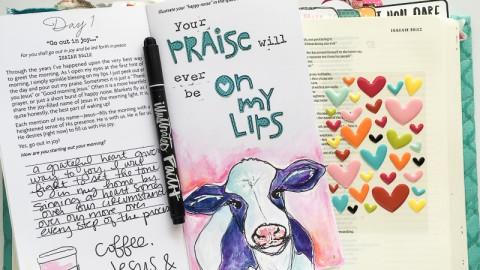 Jesus, coffee & cows