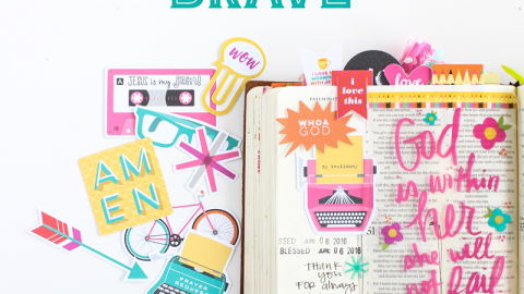 Illustrated Faith Bright & Brave by Bella Blvd