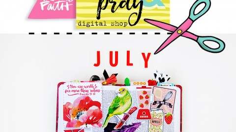 New July Releases for Print & Pray!